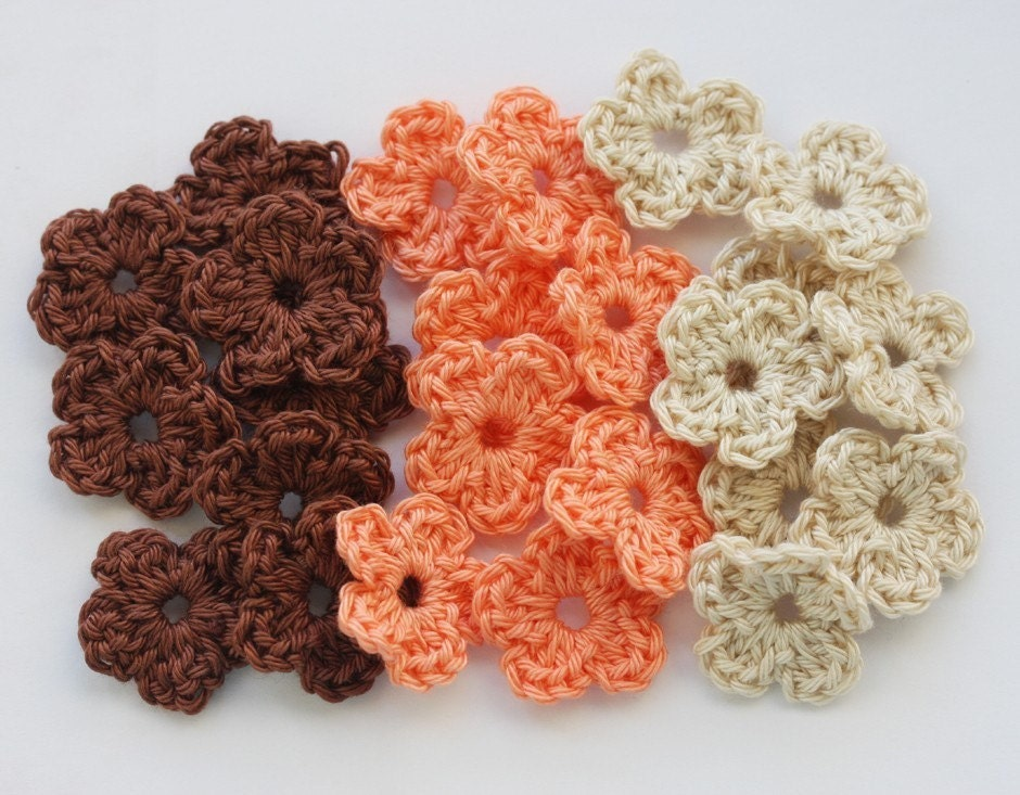Mexican Colors Crochet Butterflies And Flowers