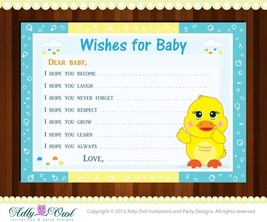Rubber Duck Baby Shower Invitation was awesome invitations template