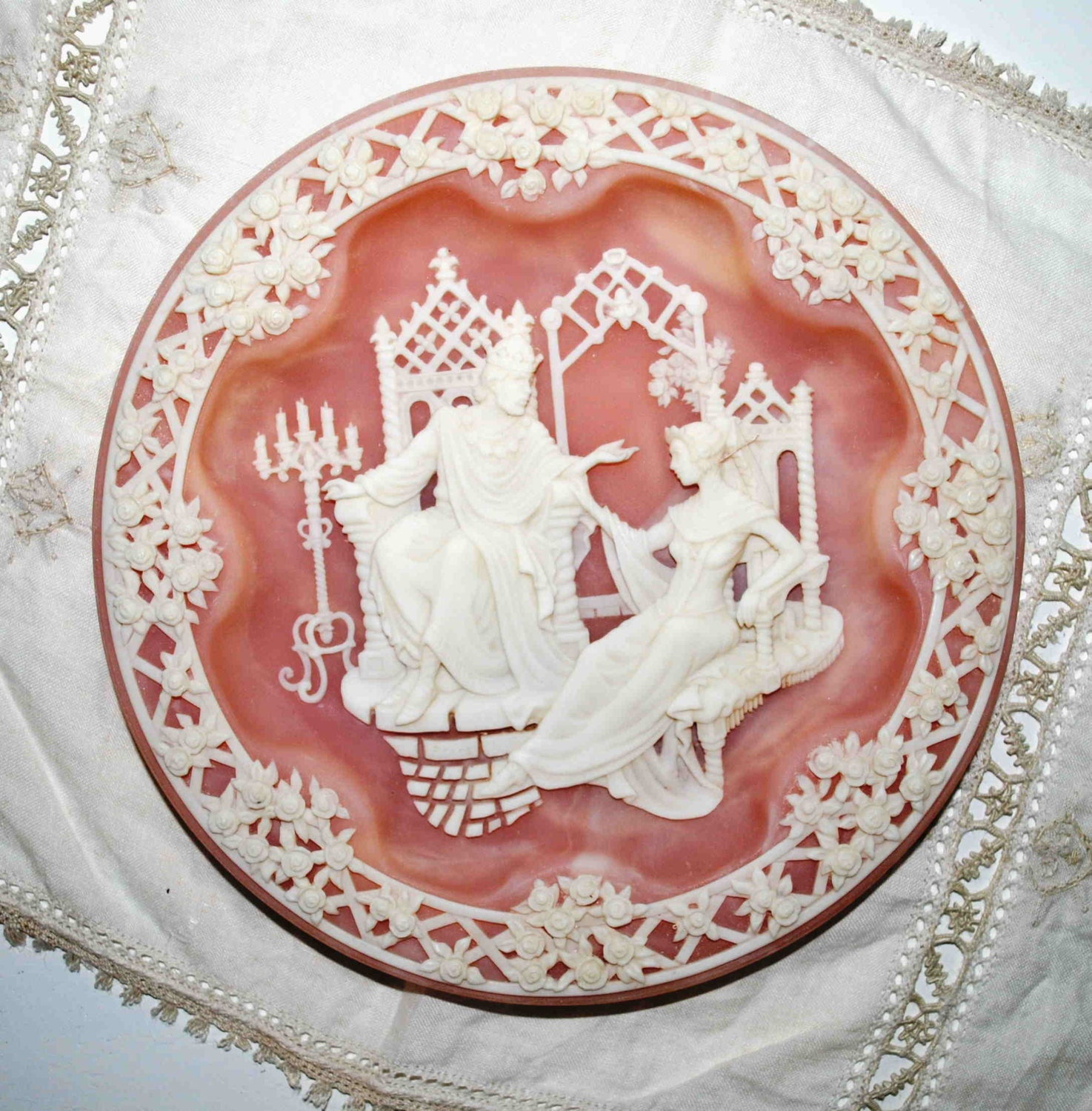 Shakespearean Lovers Collector Plate by Incolay - MACBETH & LADY MACBETH - Macbeth - BridgetsCollection