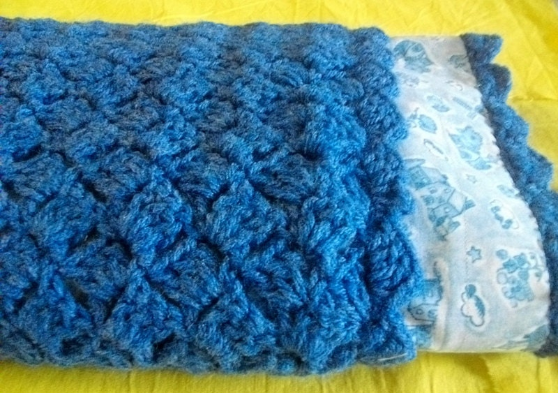 Double Sided Crochet Baby Blanket Pattern : Unavailable Listing on Etsy