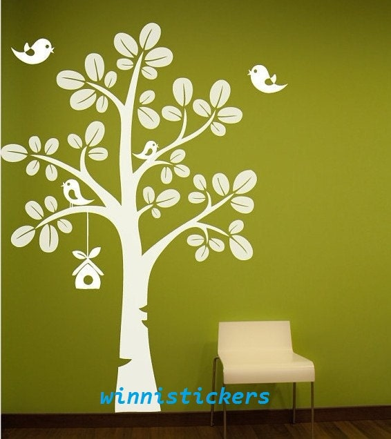 Vinyl Wall Decal Nature Design Tree Wall Decals Wall by