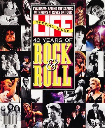Life Magazine Special Issue 40 Years of Rock & by LeftysLeftovers