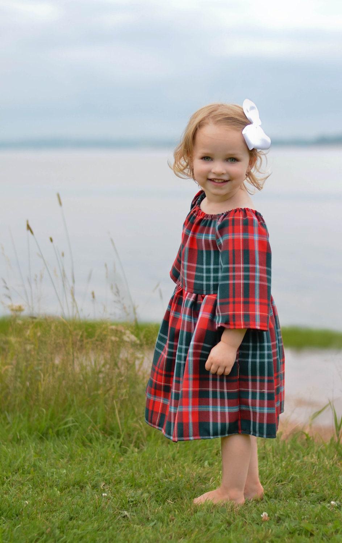 Items Similar To Dress Celtic Scottish Tartan Plaid Red