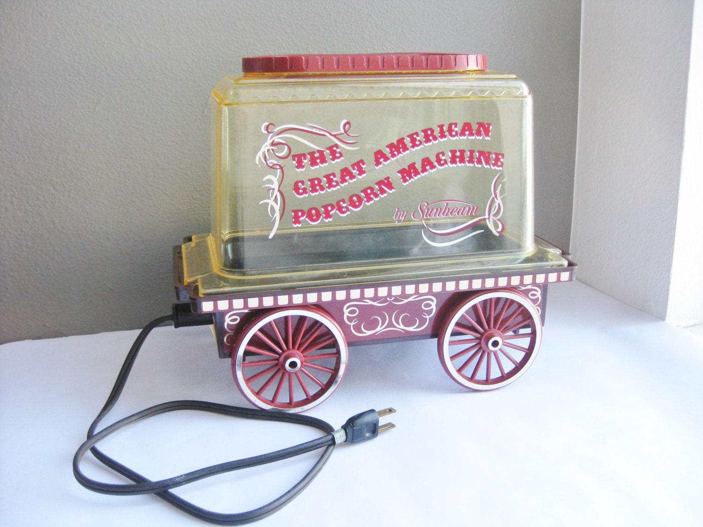 great american popcorn machine