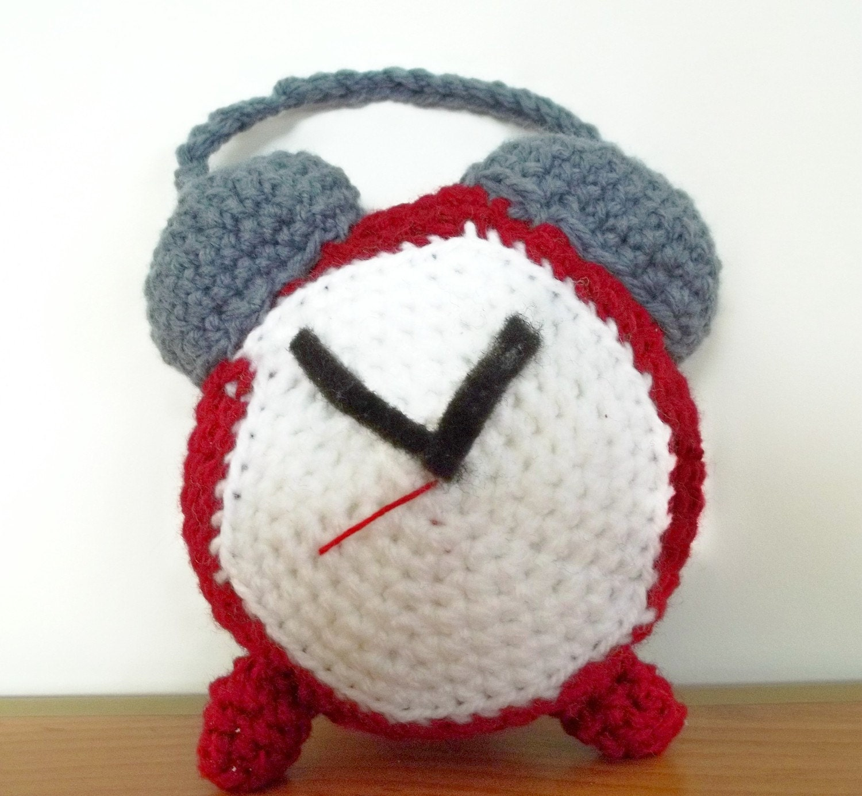 Rise And Shine Alarm Clock-Amigurumi Toy