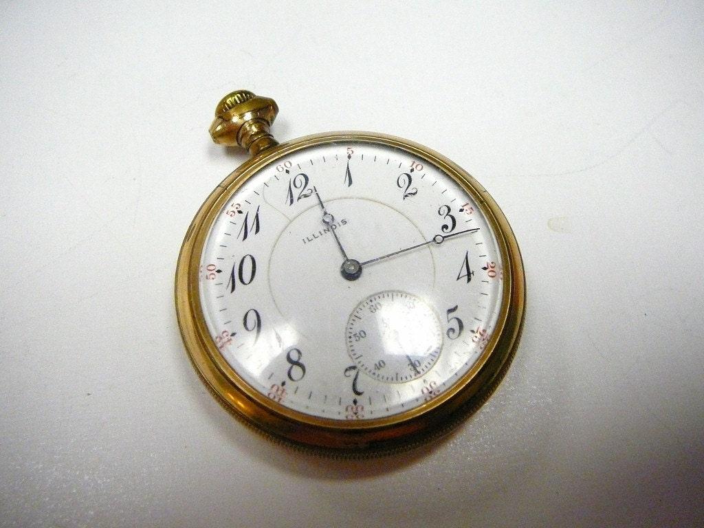 vintage illinois pocket 14k gold filled by