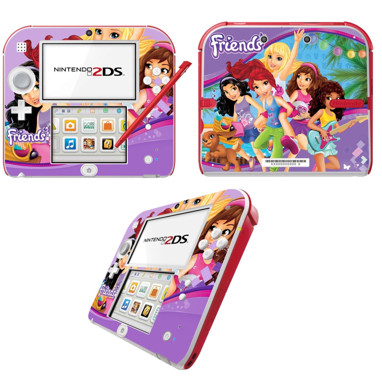 Lego Friends Vinyl Skin Sticker for Nintendo DS liteDSiDSi xl3DS3DS xlNew 3DS cstickNew 3DS xl cstick2DS