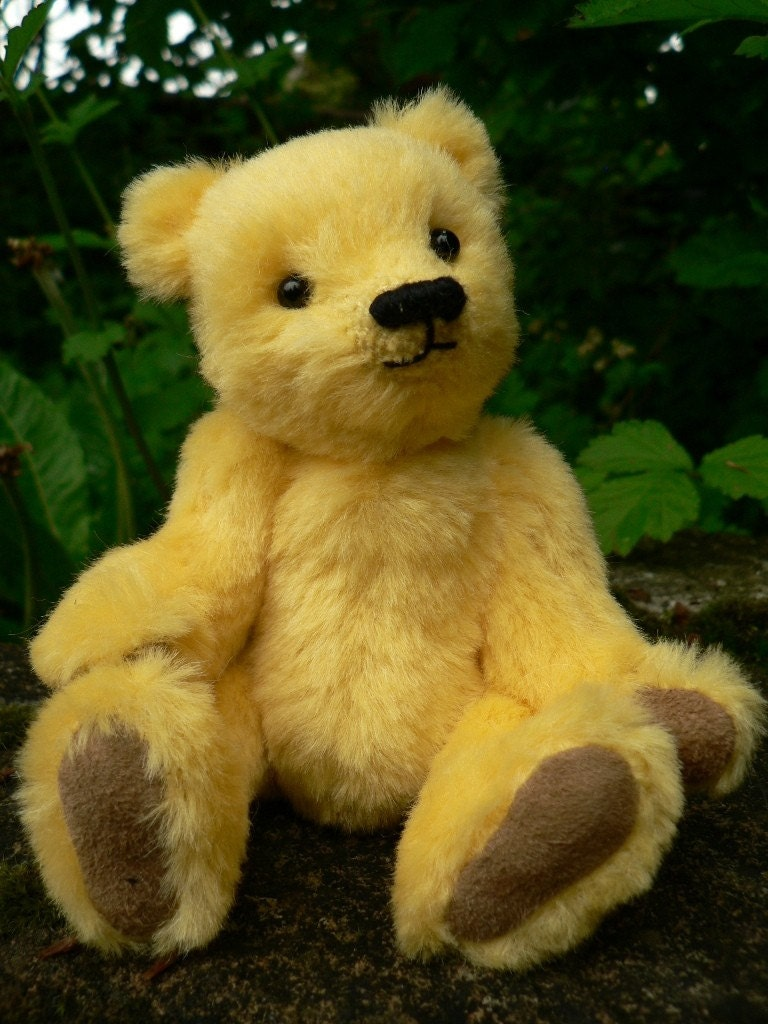Lucy OOAK Handmade Mohair Jointed Teddy Bear By Lisabears