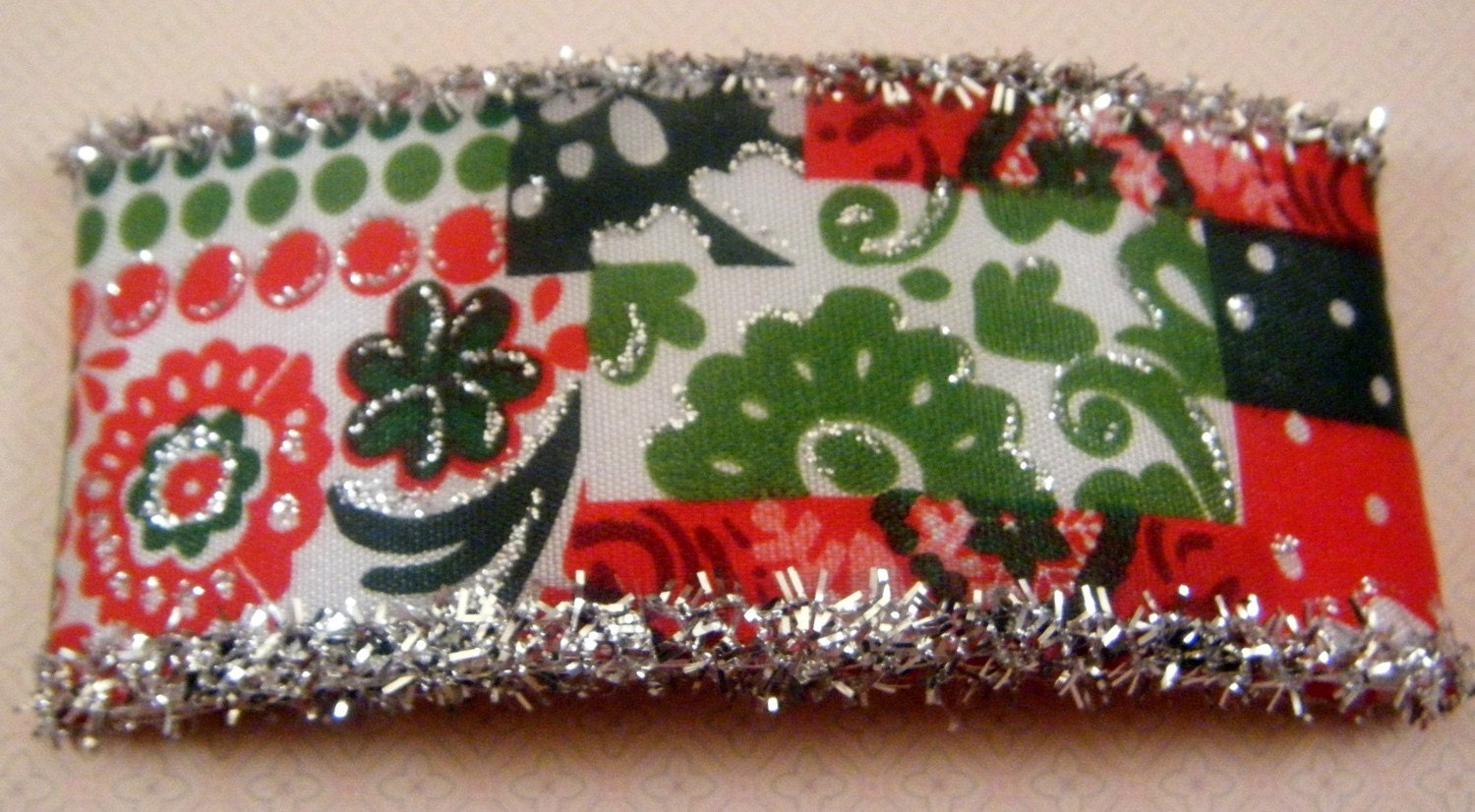 FREE SHIPPING - Christmas French Barrette