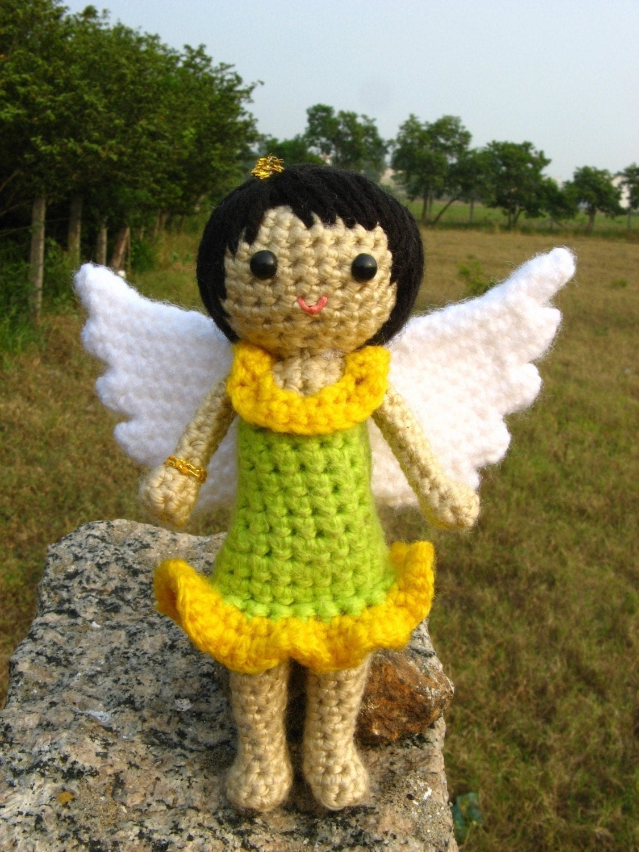 Amigurumi Garden Fairy Crochet pattern PDF childrens by ...
