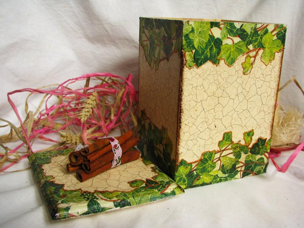 Плющ воскресенье коробка для чая или кофе и сладости или специй пакеты доставки по всему миру