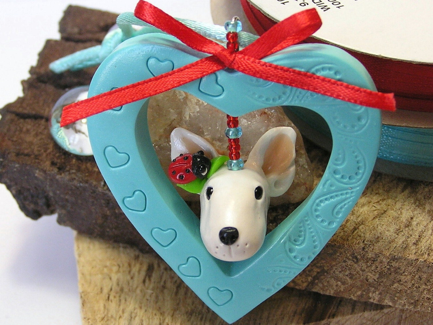 I Heart My English Bull Terrier by nanjodogz on Etsy