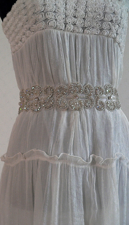 Sparkling Crystals-Bridal or special occasion SASH