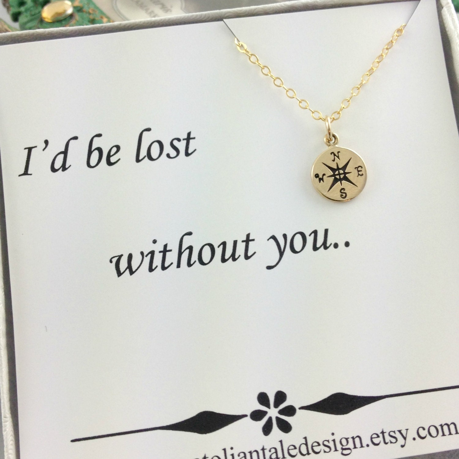 Compass bracelet travelers gift best friend gift gold Best christmas gift to get your best friend