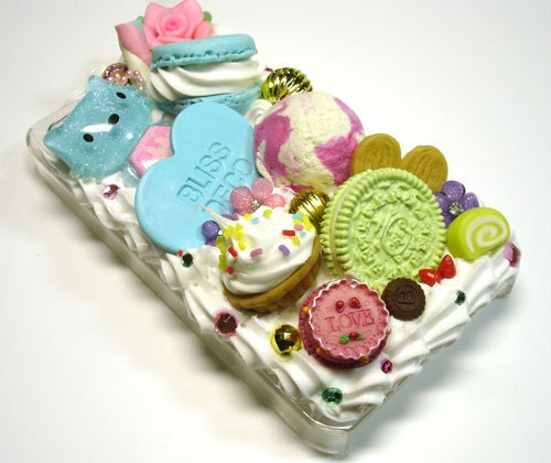 Case mobile phone sweet deco-Blissdeco063-FREE SHIP