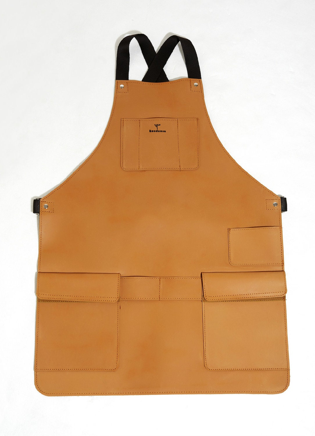 Leather Apron by iwoodlab on Etsy