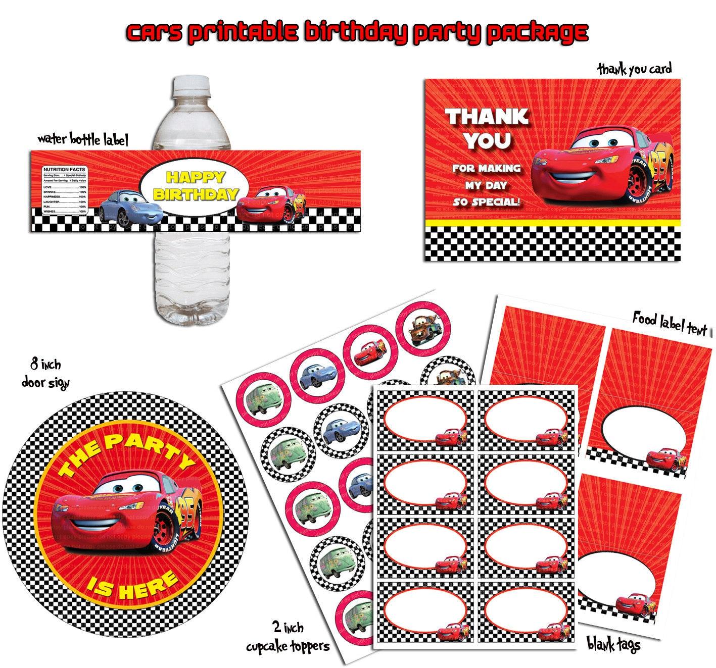 Pin Lightning Mcqueen Race Cake Childrens Birthday Cakes