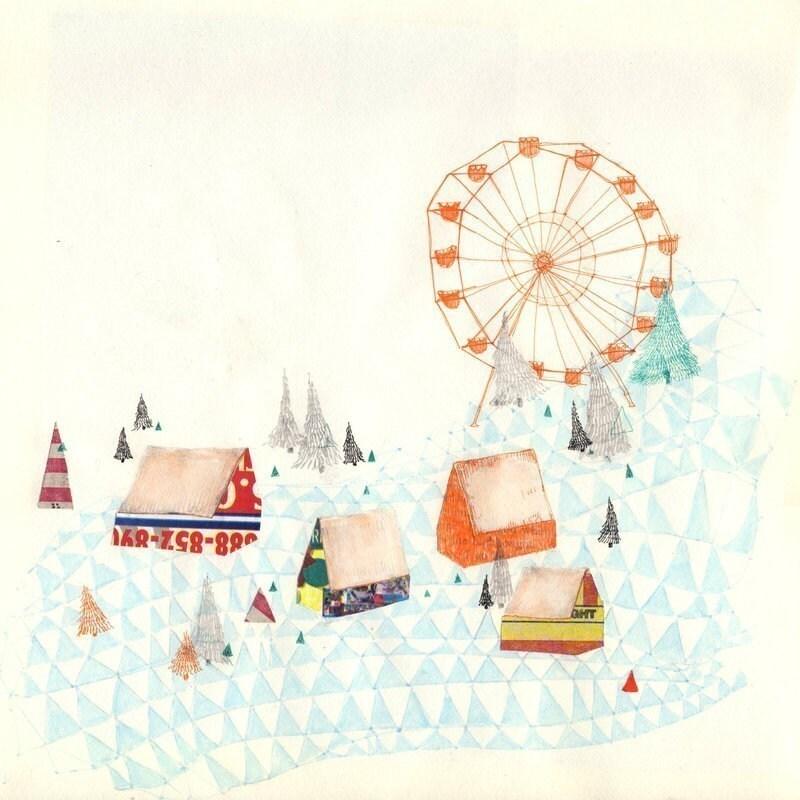 Carnival - 10 x 10 print