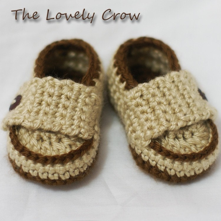 Crochet Pattern Baby Boy Loafers : Baby Boy Loafers Crochet Pattern Booties for by ebethalan