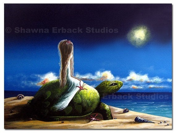 CANVAS ART PRINT by Erback (8x10) Title - Dreams Before I Awake
