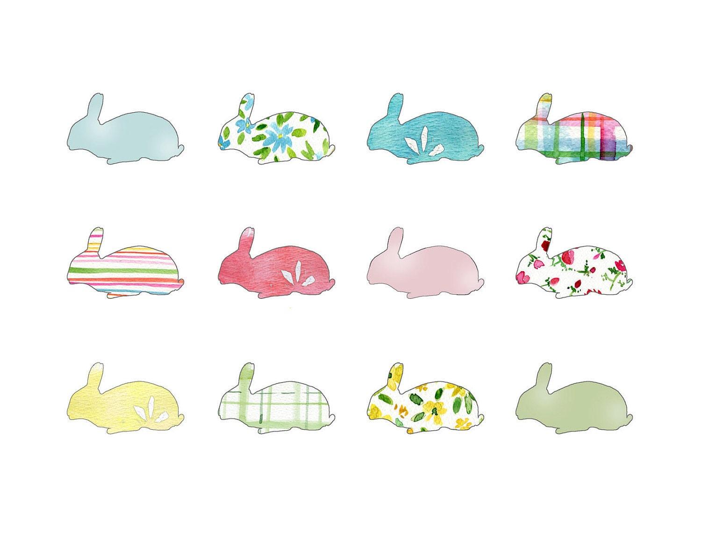 Картинки нарисованные кролики