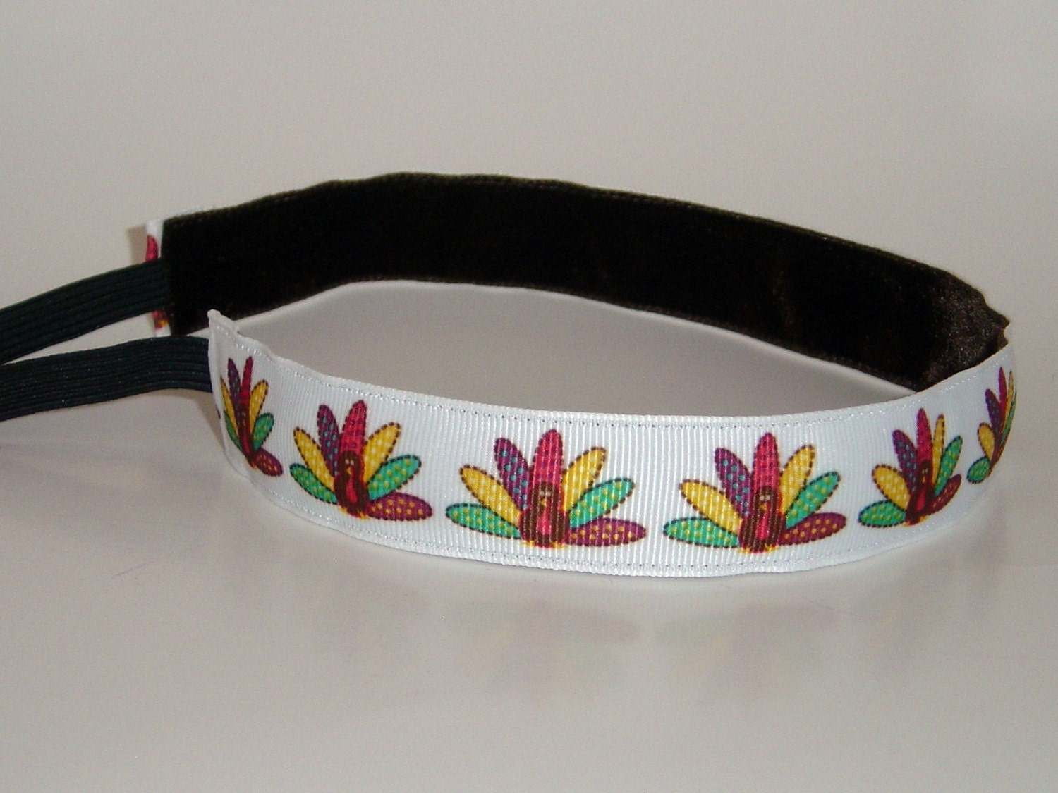 BIC Bands Thin Turkey Run Non-Slip Headband- Proceeds go to CHARITY