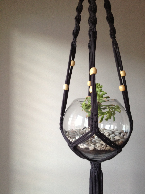 Macrame Plant Hanger By Pipnihandmade On Etsy