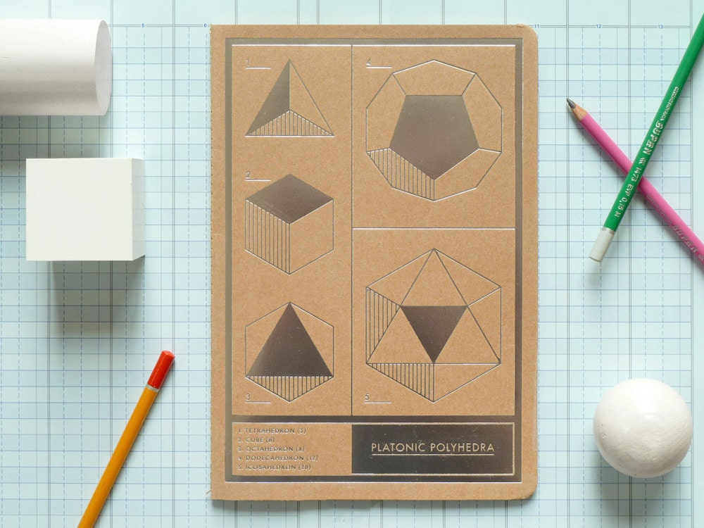Polyhedra Jotter - presentandcorrect