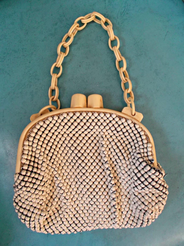 Vintage whiting and davis handbags