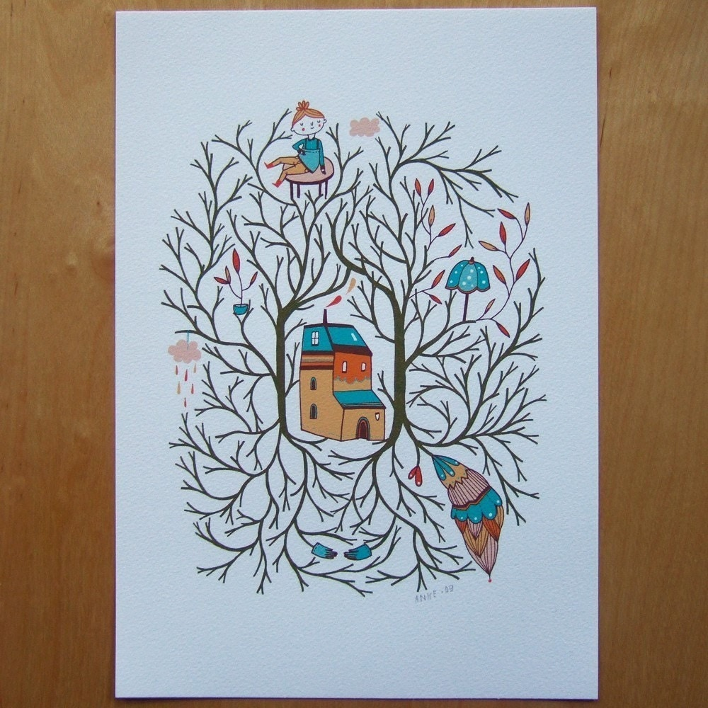 Branches - Print of my Illustrations