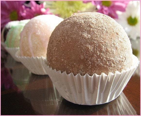 Velvet Chocolate Cream Soap Bon Bon - Goat Milk, Olive Oil Soap - EANGTEAM - TEAM EFA - FAM