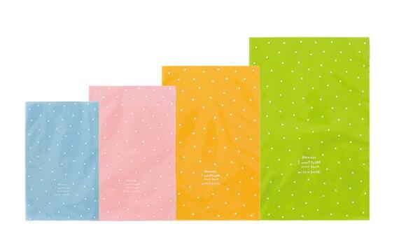 Opp Dot Gift Bags 4Set(12sheet)