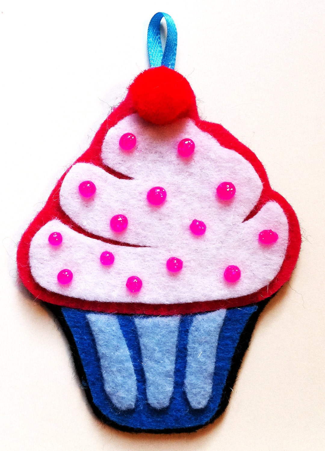 Cupcake Superstar Holiday Ornament - Kokma
