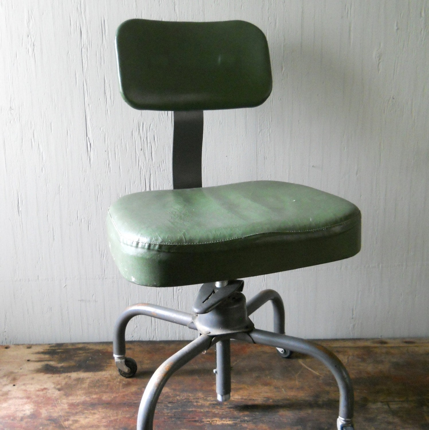 Vintage Cole Steel Swivel Office Chair By Lisabretrostyle2