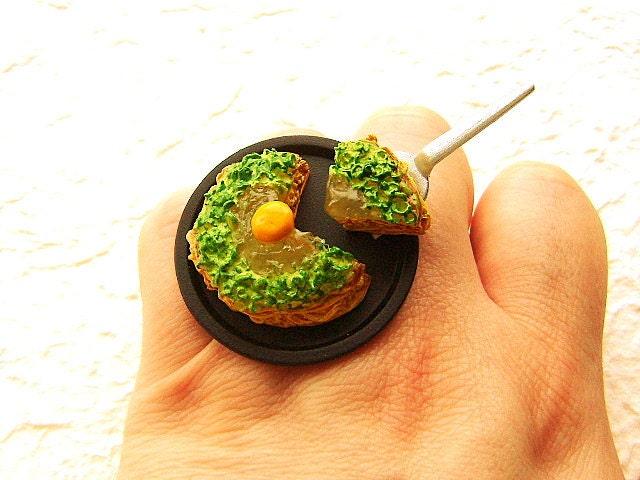 Kawaii Симпатичные японские кольца Чабер Блина