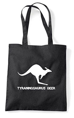 Alternative Animal Names Tyrannosaurus Deer Kangaroo Cute Funny Animal Themed Tote Bag Shopper