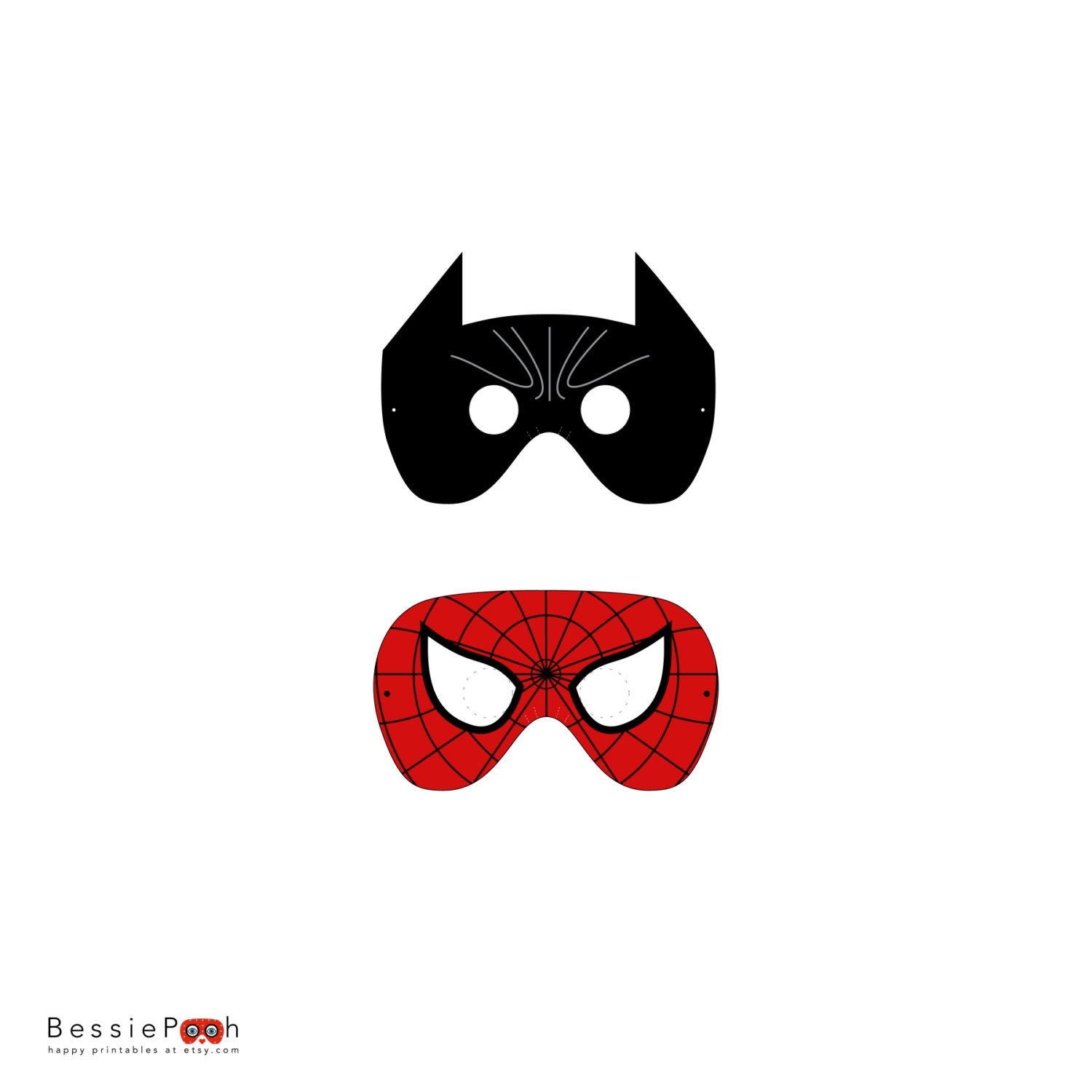 Spiderman Mask Template For Kids Images & Pictures - Becuo