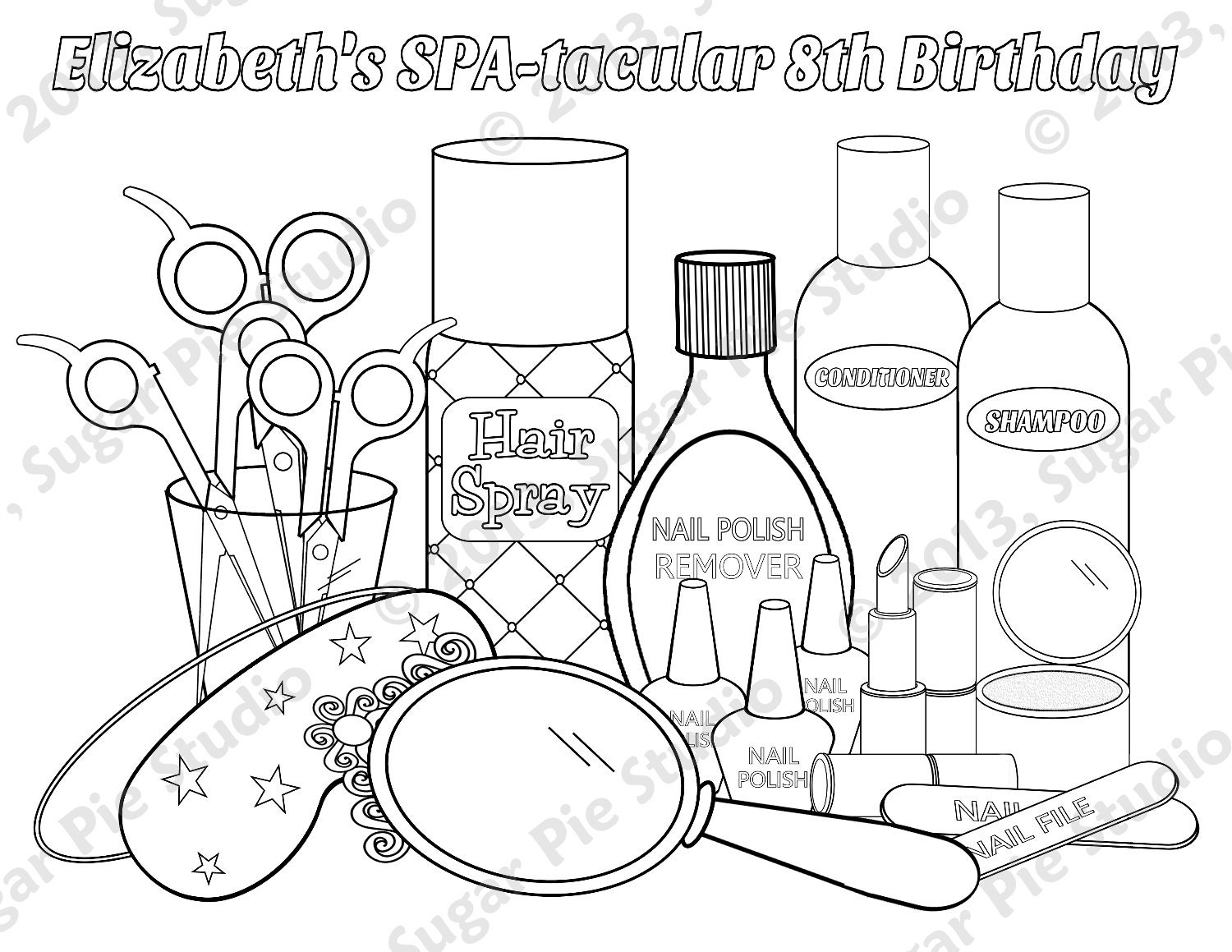mac lipstick coloring pages - photo#11