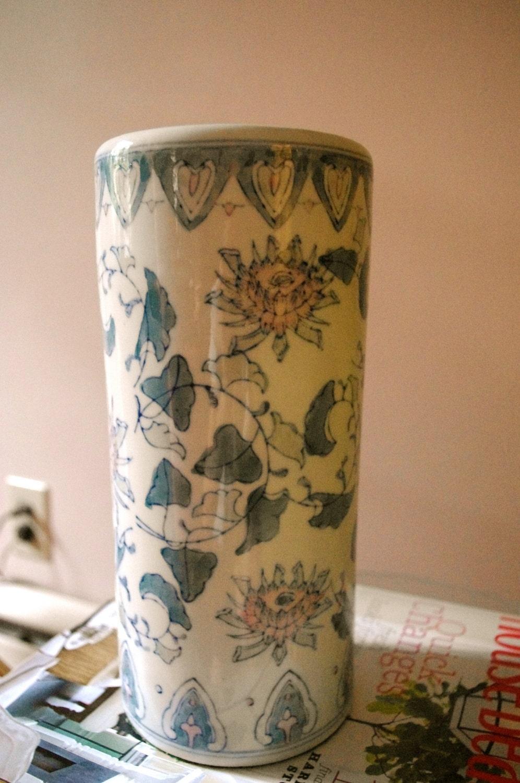 Vintage Asian Style Vase