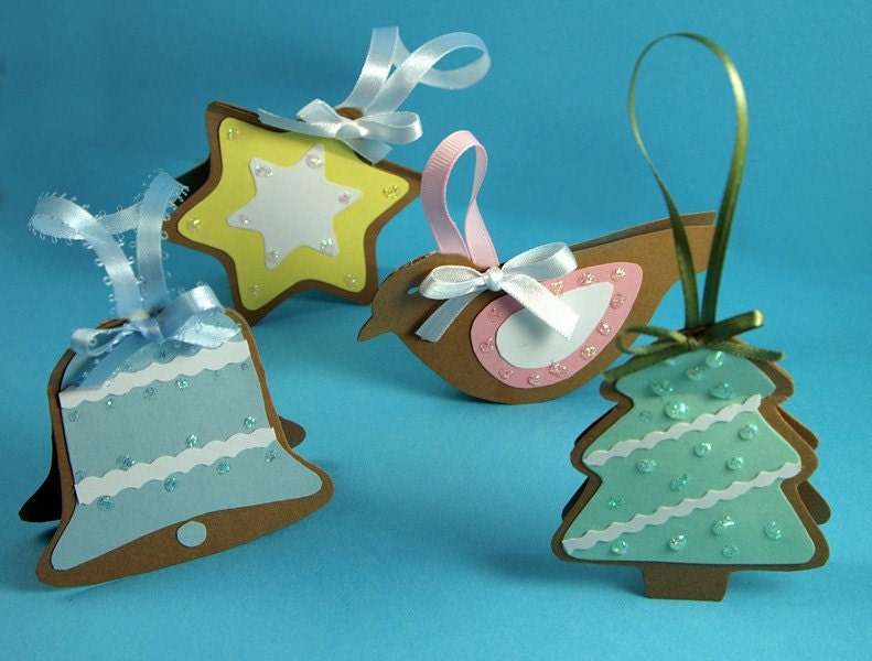 Paper Christmas Ornaments Pack