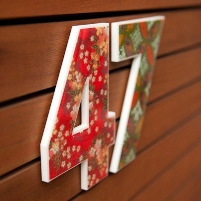 Decor house numbers