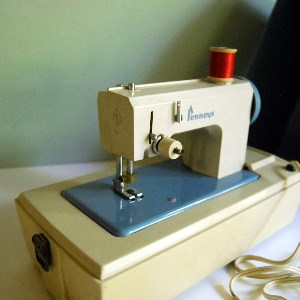 Vintage Toy Sewing Machine by Penneys