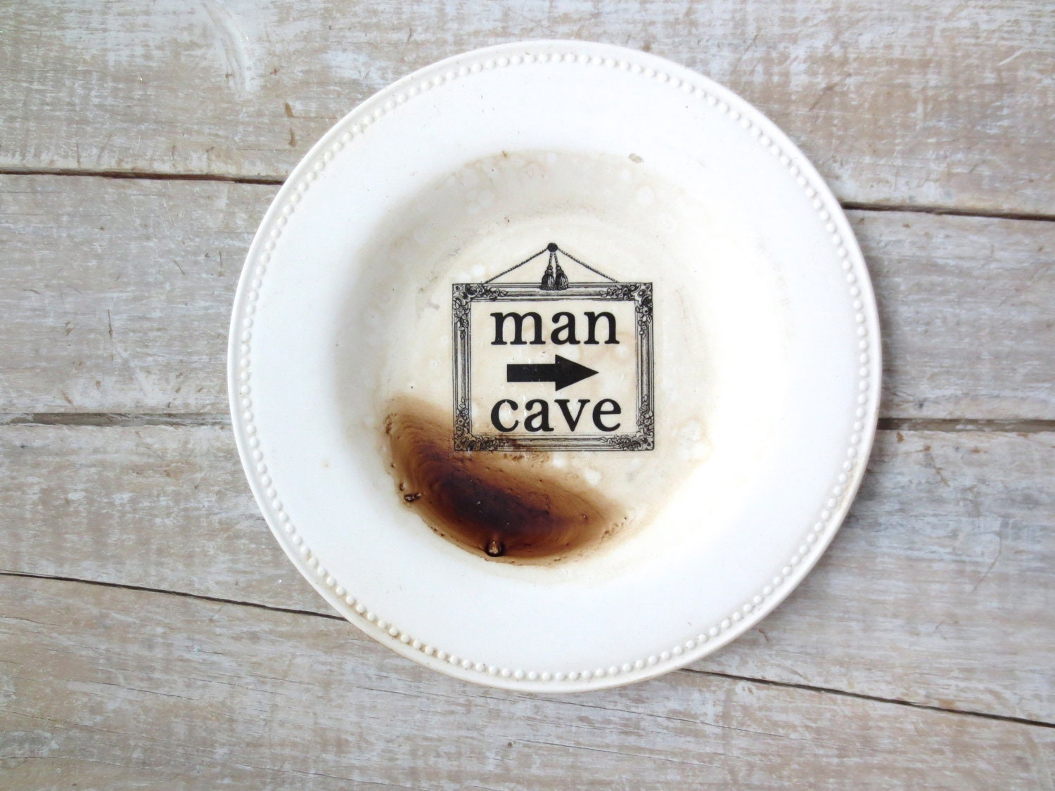 Man Cave Decor // Rustic  Man Cave Sign // Rustic Eco Friendly // Man Stuff // Man Decor // Wall Sign // Man Den - SweetMeas