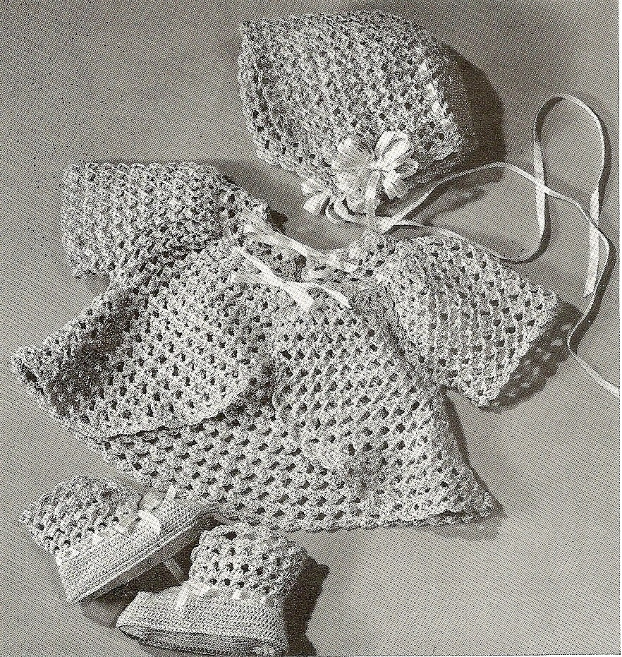 Vintage Crochet : Vintage Crochet Baby Bonnet Patterns - Squidoo : Welcome to Squidoo