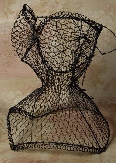Female Corset Body Waist Mesh Wire Iron By Selinabeadsnbits