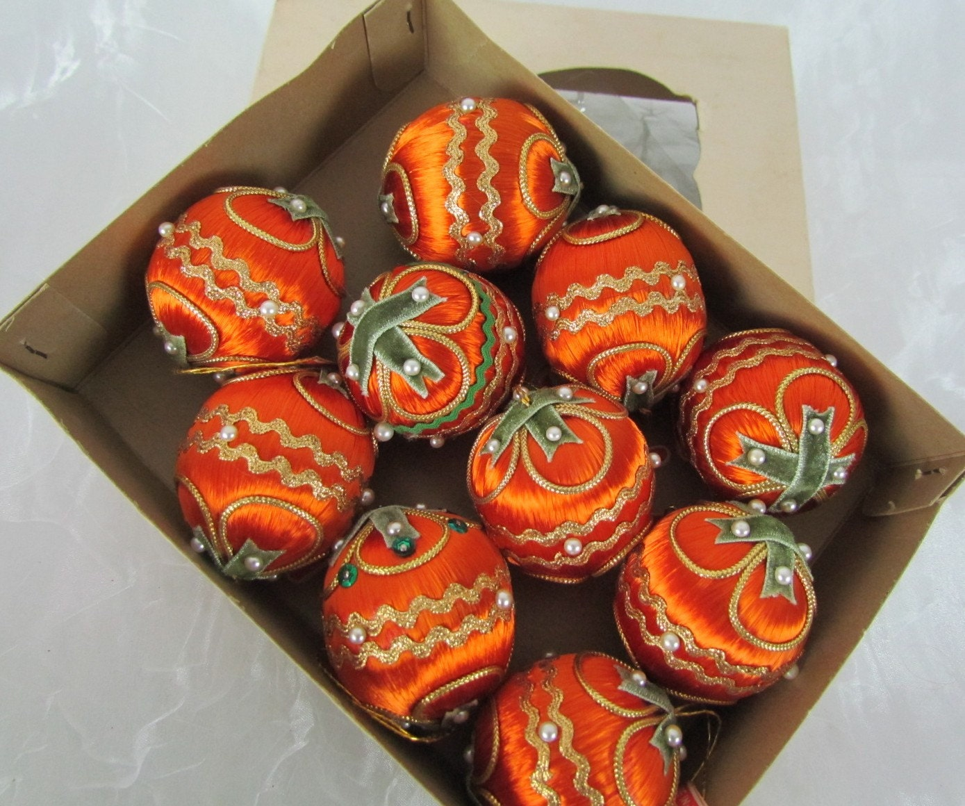 Christmas Decorations With Orange: Unavailable Listing On Etsy