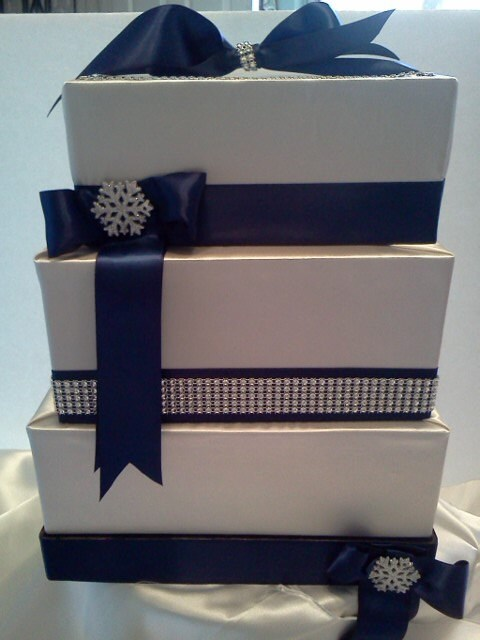 3 Tier Wedding Gift Box : ... tier wedding card box matches your wedding cake from