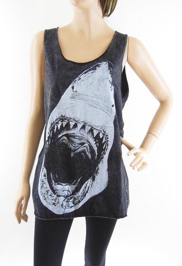 Shark shirt shark tank top unisex tshirt women by sinclothing for Shark tank t shirt printing