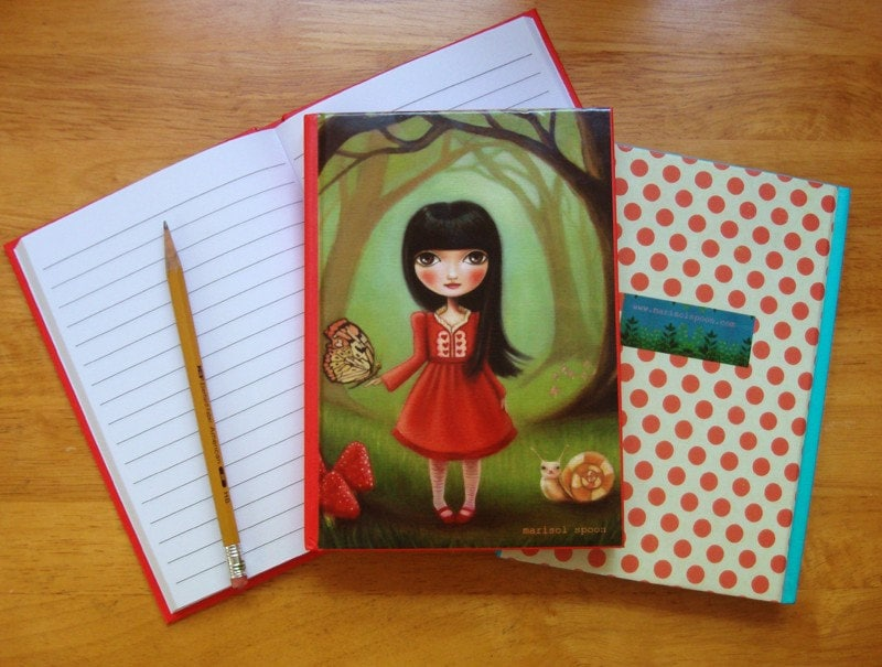 Bright Forest - notebook journal