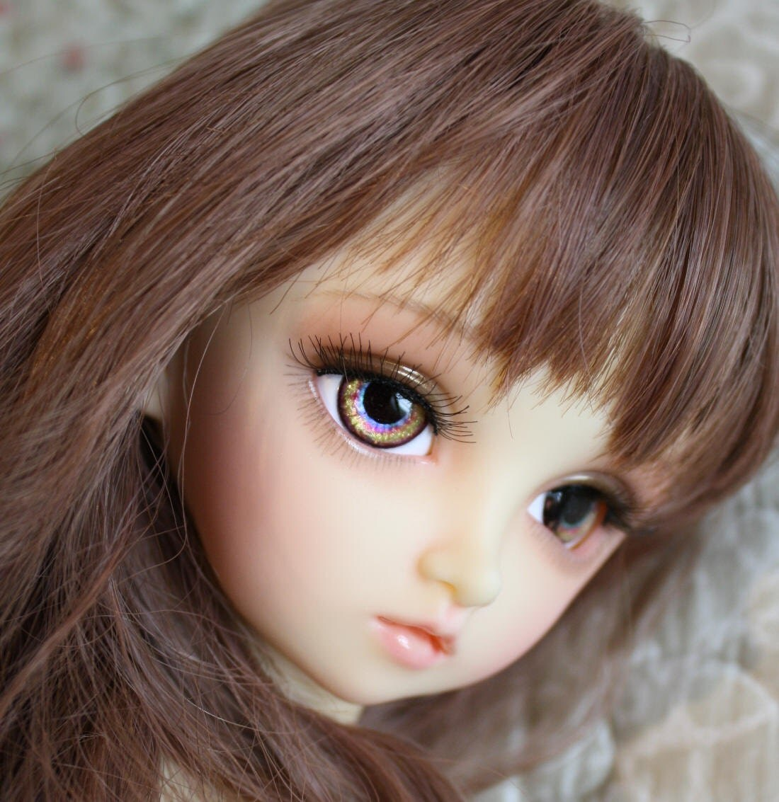 BJD eyes Doll eyes Hand made available in 12141618202224mm Gingerbread Girl made to order